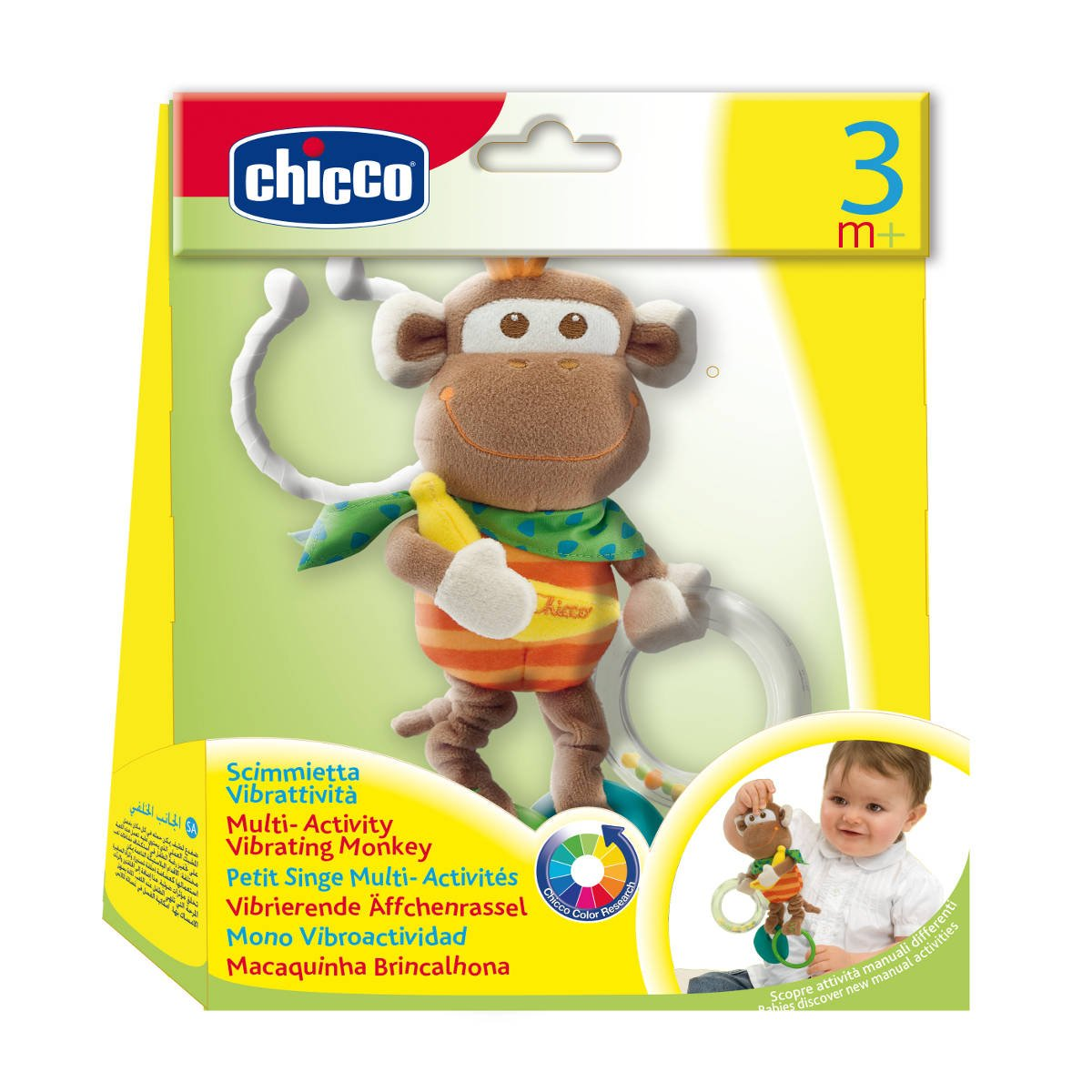 Chicco Multi Activity Vibrating Monkey by Chicco (Image #2)