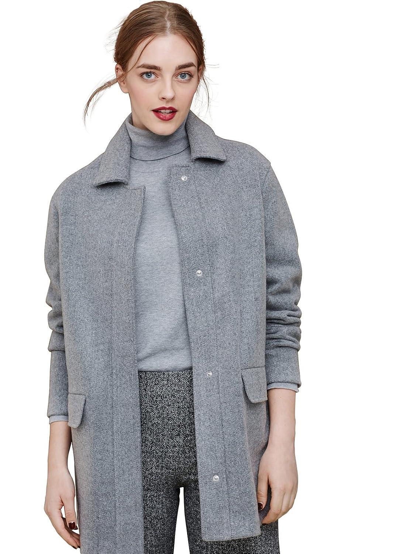 VIOLETA (Plus Size) - Klassischer mantel aus Mäntel woll-mix