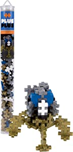 PLUS PLUS – Mini Maker Tube – Lunar Lander, Apollo 11 Space Playset – 70 Piece, Construction Building STEM | STEAM Toy, Interlocking Mini Puzzle Blocks for Kids