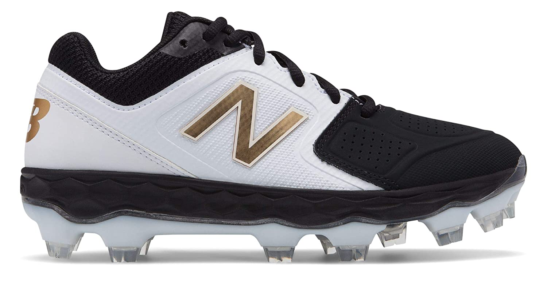 [New Balance(ニューバランス)] 靴シューズ レディース野球ソフト Fresh Foam SPVELOv1 B07J6B3CFQ 24.5 cm|ブラック ブラック 24.5 cm