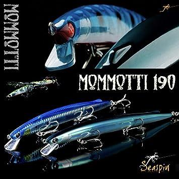 Seaspin Mommotti 190 S SAR - Señuelo de Pesca SW: Amazon.es ...