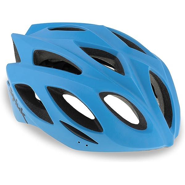 Spiuk Rhombus Casco, Unisex Adulto, Azul Mate, (M-L) 58-62: Amazon.es: Deportes y aire libre