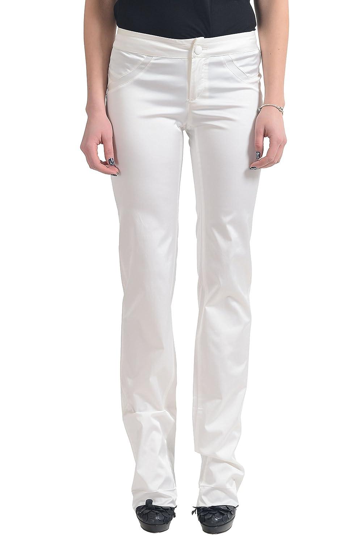 Versace Women's White Casual Pants US 26 IT 40