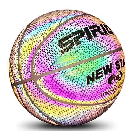 RUNMIND - Balón de Baloncesto Luminoso para Danza callejera, Juego ...