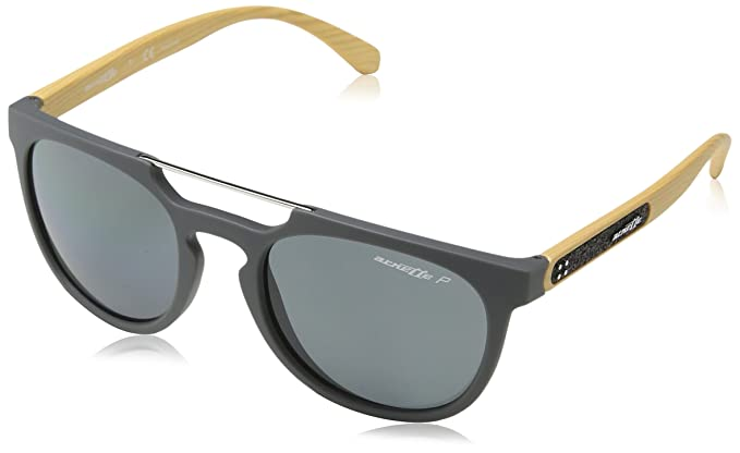 Arnette Woodward, Gafas de Sol para Hombre, Gris (Matte Grey), 52