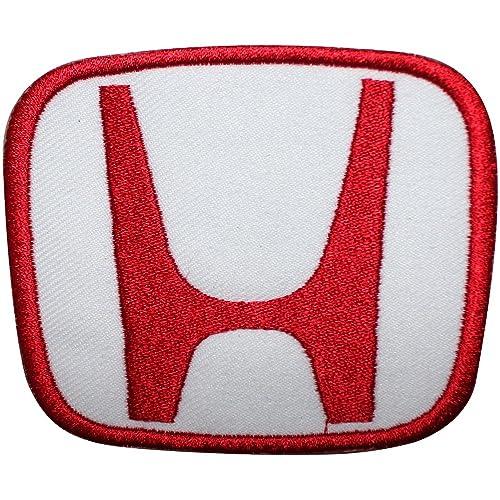 Honda motor coche Logo bordado hierro en/coser en parche disfraz T Shirt bolsa chaqueta
