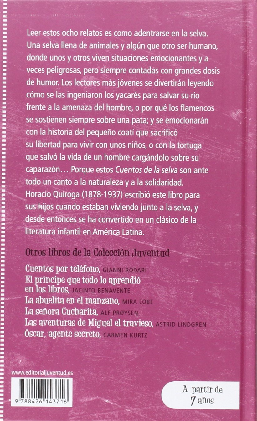 Amazon.in  Buy Cuentos de la selva (Spanish Edition) Book Online at Low  Prices in India  97e74a4a5f6