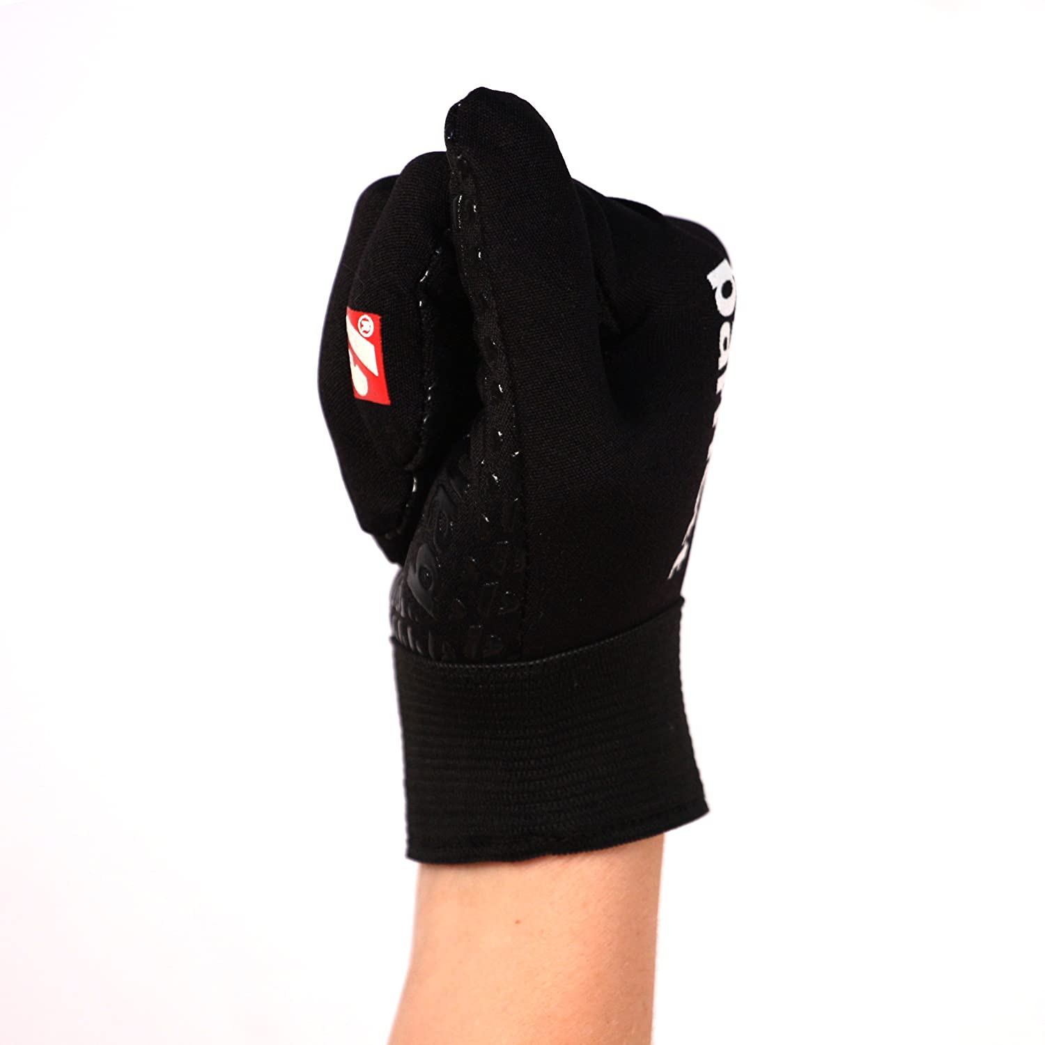 RE,DB,RB FLGL-02 American Football Handschuhe Running Schwarz barnett M