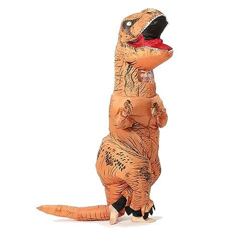 Disfraces inflables del dinosaurio de T-Rex para el unisex adulto de un tamaño