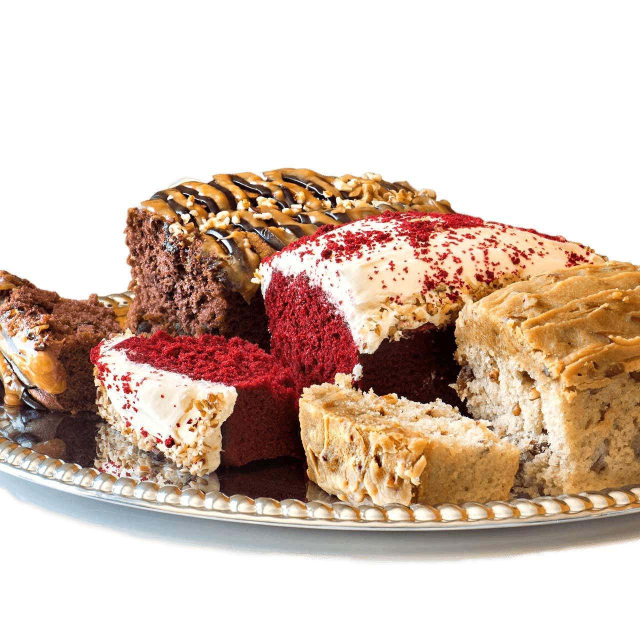 Savannah Candy | Praline, Red Velvet, German Chocolate Loaf Cake Combo
