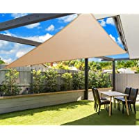 Instahut 3 x 6m Rectangle Shade Sail UV Proof Outdoor Playground Sun Shade Cloth Canopy