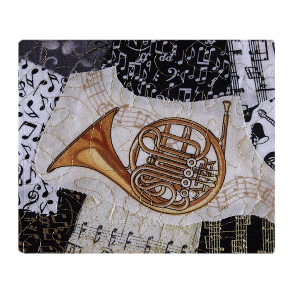 CafePress - French-Horn-Ornament - Soft Fleece Throw Blanket, 50''x60'' Stadium Blanket