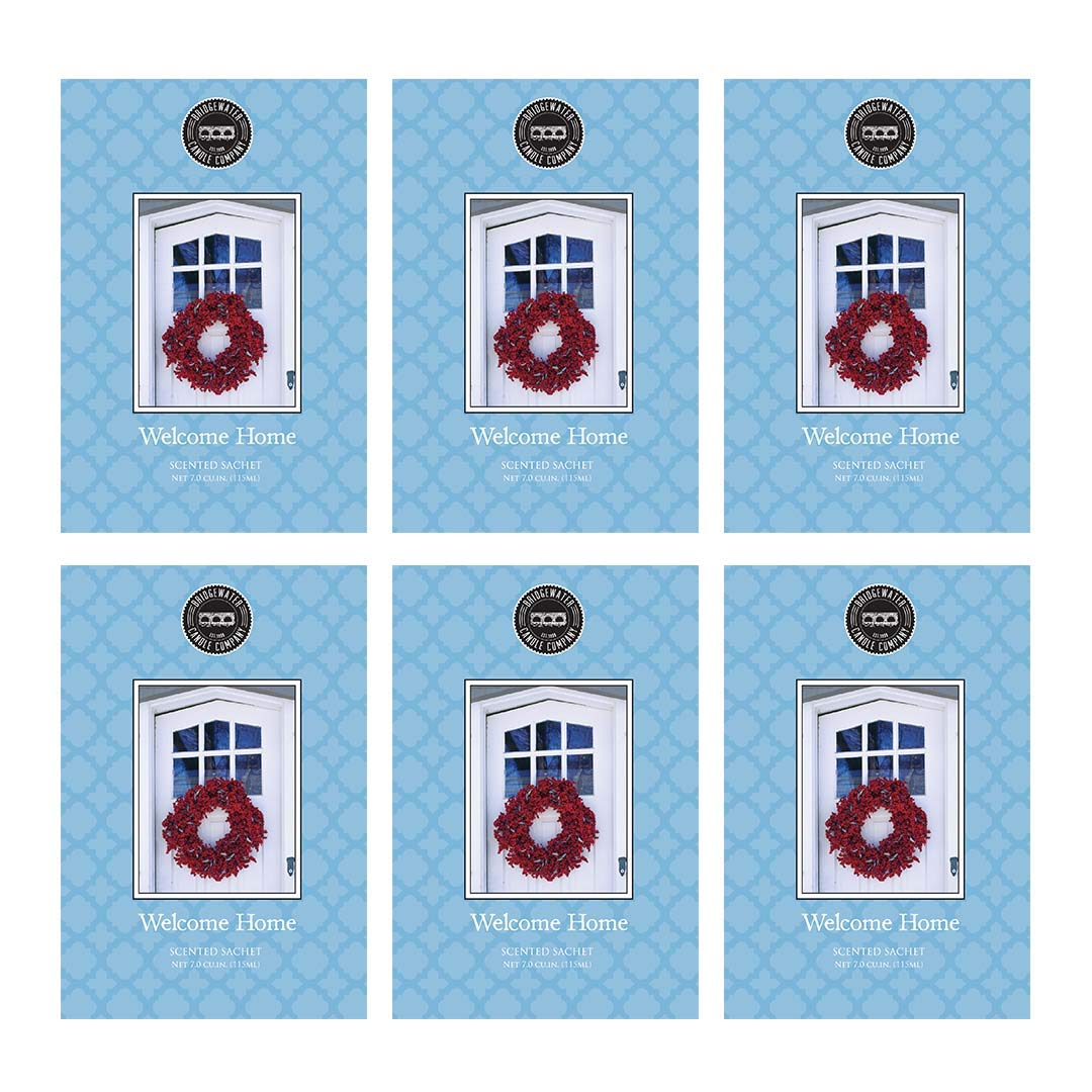 Bridgewater Scented Sachet - Welcome Home, 6-Pack by Bridgewater Candle (Image #1)