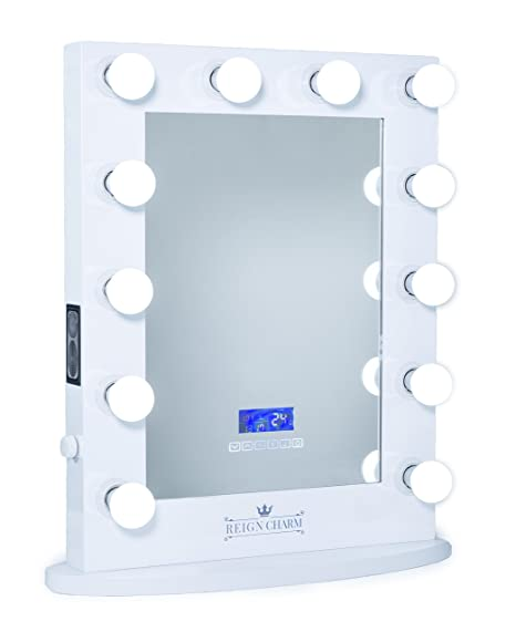 Amazoncom Reigncharm Hollywood Vanity Mirror Bluetooth Audio