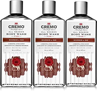product image for Cremo All Season Body Wash, Bourbon & Oak, 16 Ounce (Pack of 3)