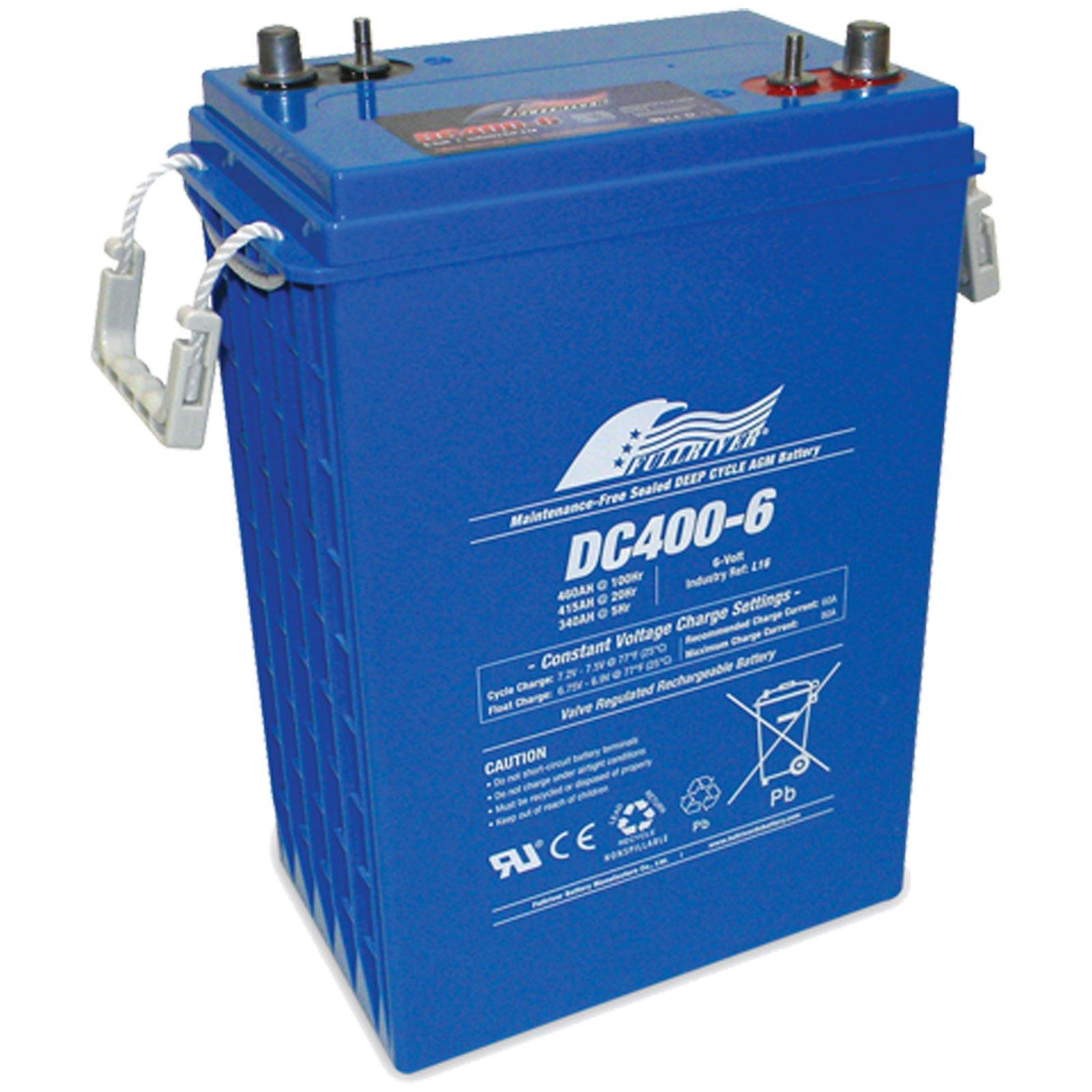 Fullriver 903 L16 6V 415Ah AGM Sealed Lead Acid Battery DC400-6