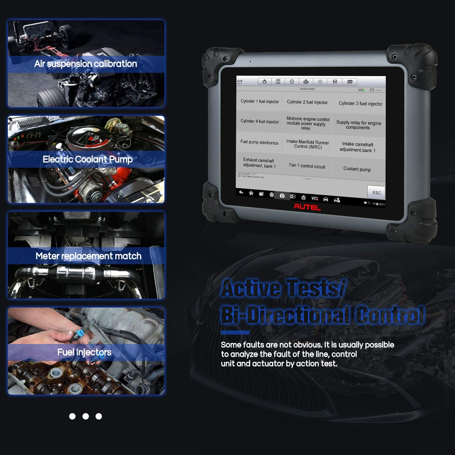 All System Diagnostics MV108 Add-On 30+ Services SAS Active Test DPF BMS ABS Same Functions as MK908P Oil Reset EPB Autel MaxiSys MS908S Pro Diagnostic Scan Tool with J2534 ECU Programming