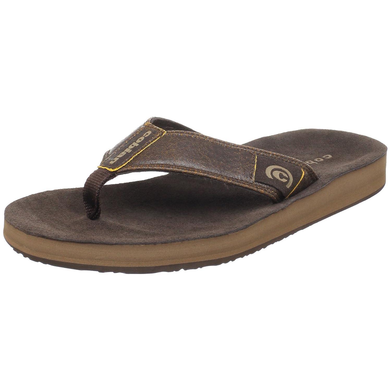 f0ab1eaa322b cobian Men - Shoes - Flip Flops Mens Suede Puerto Chocolate  Amazon.co.uk   Shoes   Bags