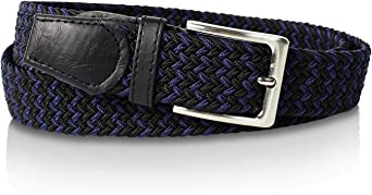 TALLA 120. Glamexx24 Cinturón trenzado de cinta elástica para hombres y mujeres unisex