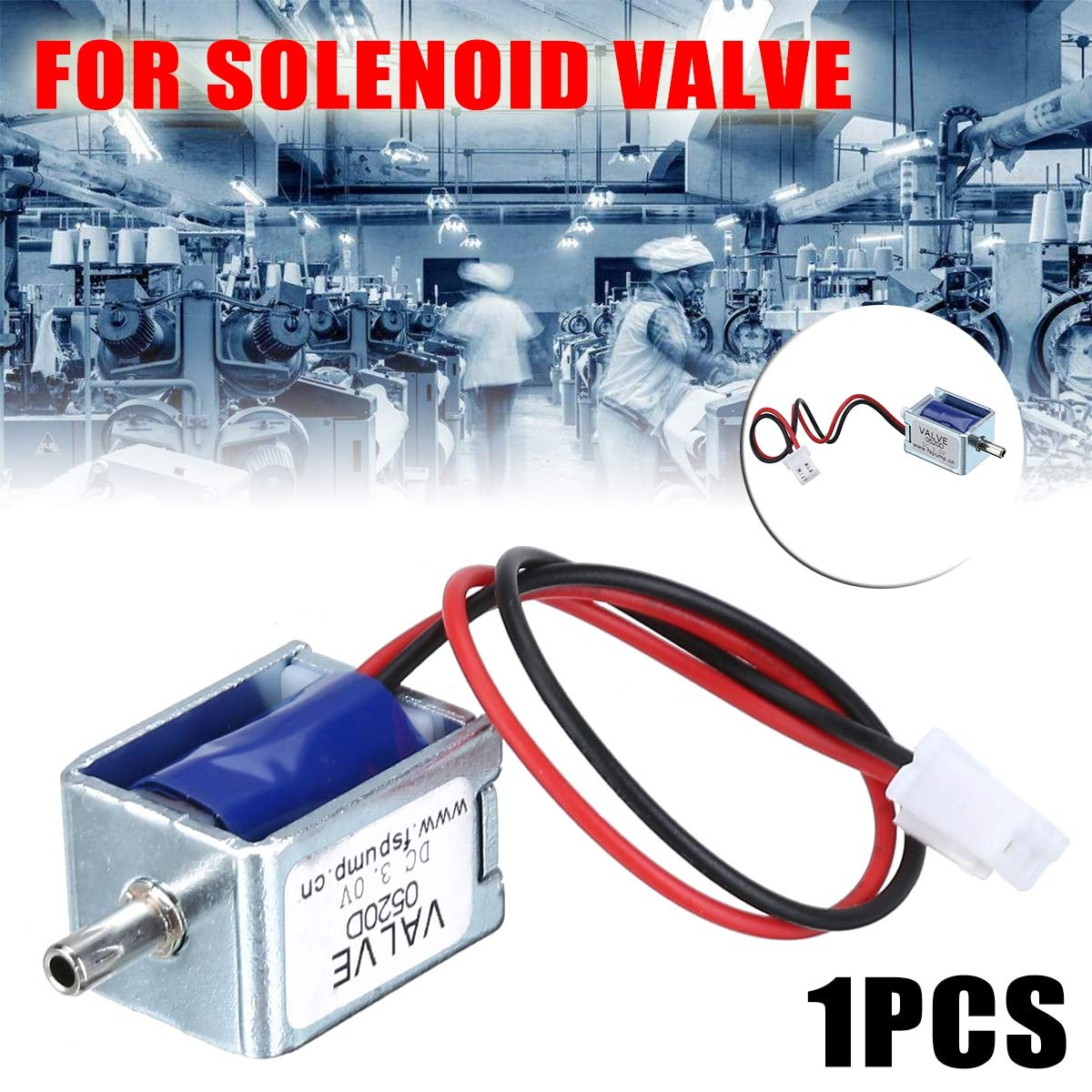 1Pcs DC 3V Mini Electric DC Solenoid Valve N//C Normally Closed for Gas Air Valve Solenoid Valve