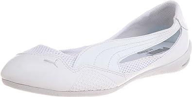 ballerine puma femme blanche