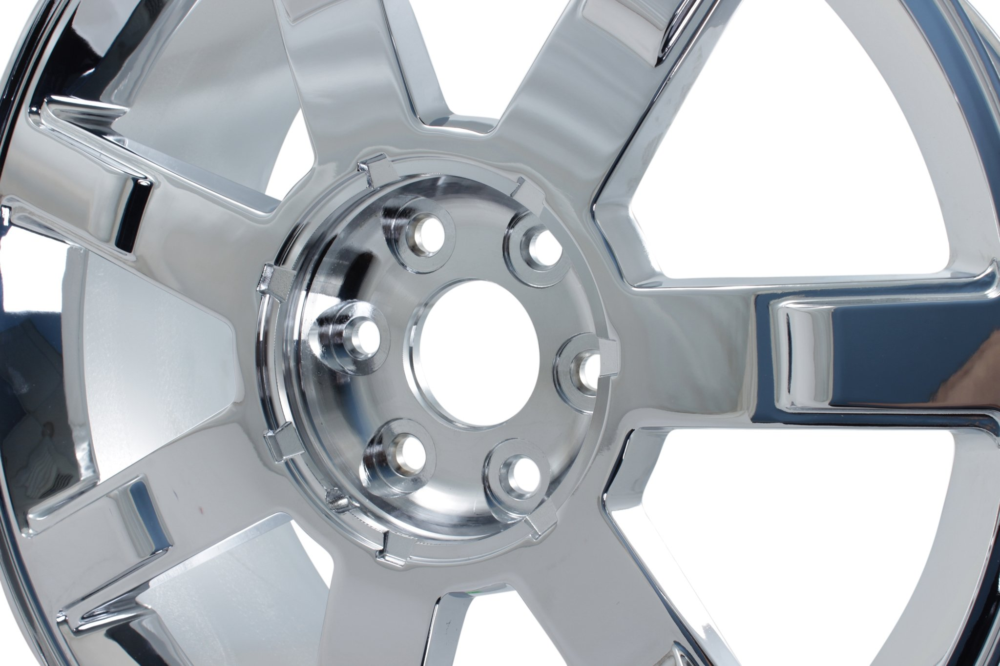 New 22'' x 9'' Replacement Wheel for Cadillac Escalade 2007-2013 Rim Chrome 5309 by Cadillac (Image #4)