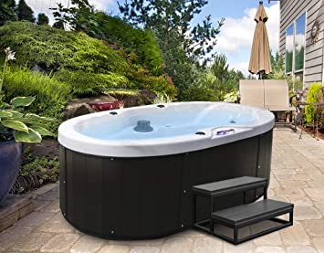 Amazon.com: American Spas Siesta 418B - Spa portátil, color ...