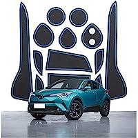 CDEFG C-HR CHR 2016-2021 Rubberen matten voor de auto, antislipmatten, middenconsole, binnendeur, rubberen matten…