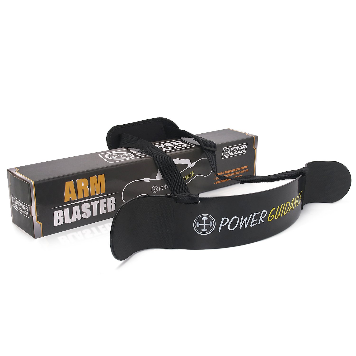 POWER GUIDANCE Arm Blaster, Bicep Isolator for Arm & Bicep Support, Great for Isolate Your Arms and Shoulders, Enhance Your Bicep Curls