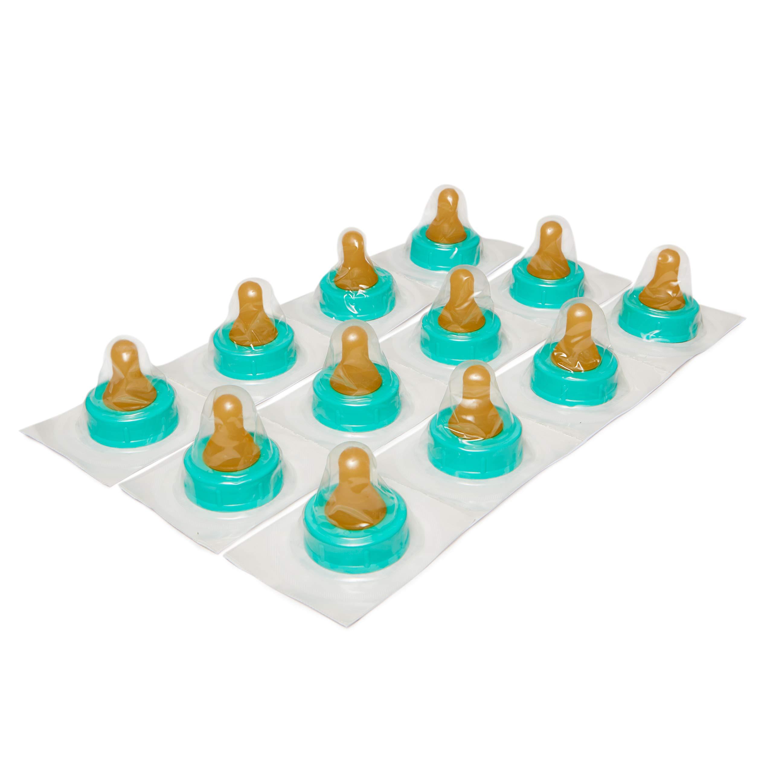 Enfamil Slow Flow Soft Nipples - Latex-Free & BPA Free, Pack of 12