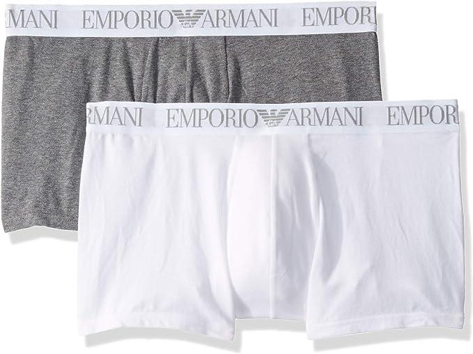 Emporio Armani 安普里奥·阿玛尼 莫代尔 男式四角内裤*2条装 S码2.8折$10.96 海淘转运到手¥87