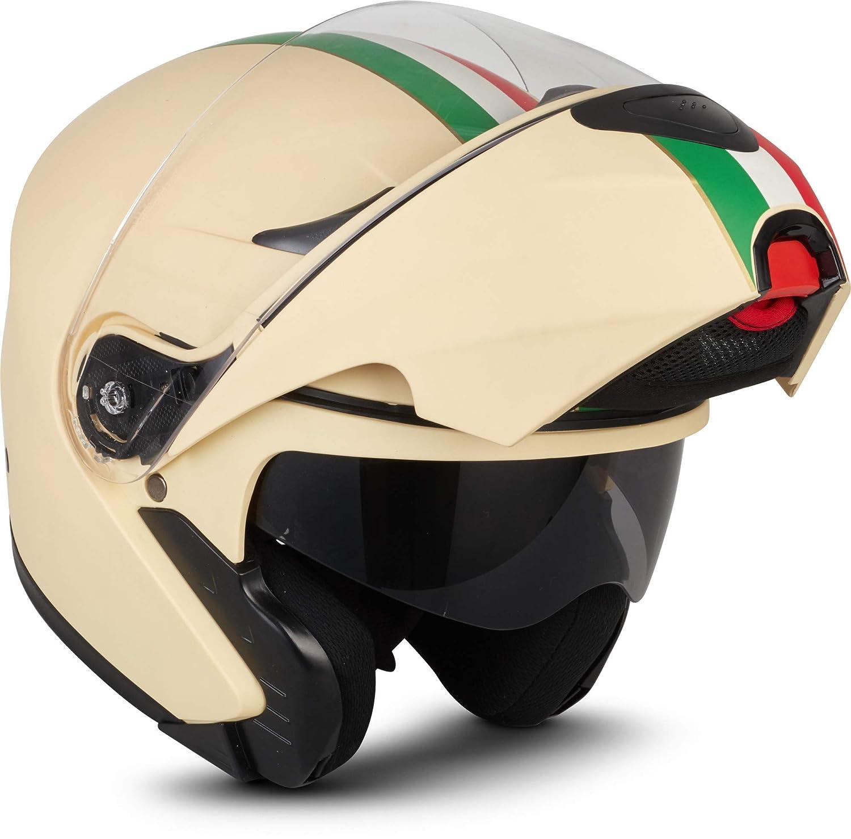 "53-54cm Moto Helmets/® F19 /""Runner Black/"" /· Motorrad-Helm /· Klapp-Helm Modular-Helm Flip-up Integral-Helm Motorrad-Helm Roller-Helm Full-Face Cruiser /· ECE Sonnenvisier Schnellverschluss Tasche XS"