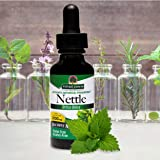 Nature's Answer Nettles Extract   Herbal Supplement   Helps Support Prostate Heath   Non-GMO, Kosher, Gluten-Free, Alcohol-Free 1oz