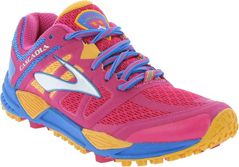 Brooks Cascadia 11 Womens - Zapatillas de trail running Rosa Size: 36.5 EU: Amazon.es: Zapatos y complementos