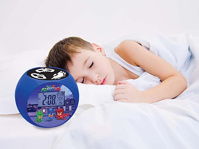 Lexibook - Despertador Digital, Azul (PJ Masks): Amazon.es ...