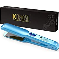 KIPOZI Pro 1.75 Inch Wide Hair Straightener, Nano Titanium Flat Iron for Hair, Heats Up Instantly, Dual Voltage Hair…