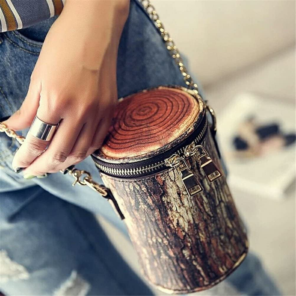 Tree Stump Coin Purse Cellphone Cluthes Women Bags