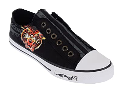 9189a38d61c7 ED HARDY LR 500 Kids Canvas Top Sneaker Shoes (Kids 1