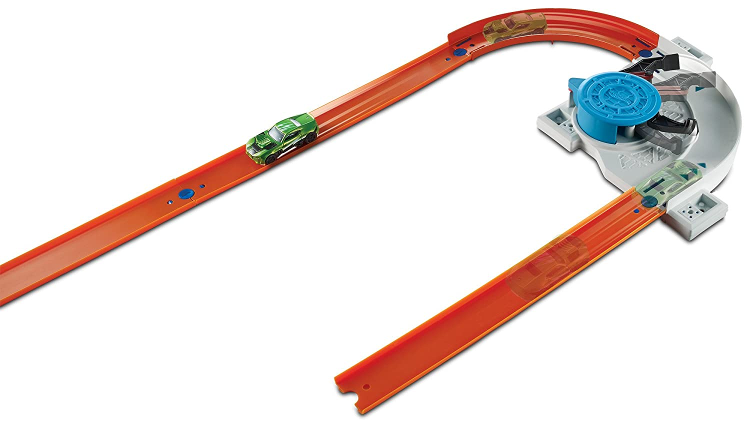 Hot Wheels Track Builder Rapid Launcher Playset Mattel DWW94