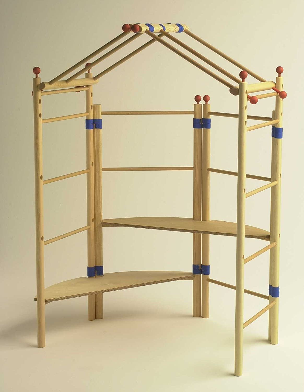 Juego de casa de juegos, versión básica para ampliación, inserto variable de madera