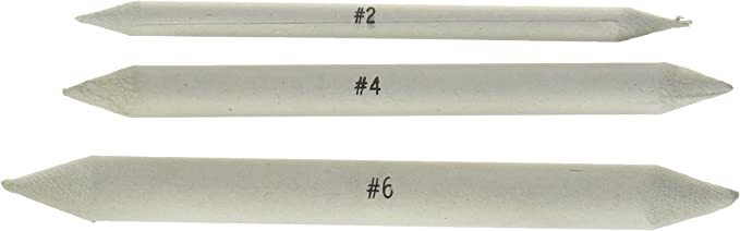6-Pack Jack Richeson 3//8-Inch Blending Tortillon Stomps Large