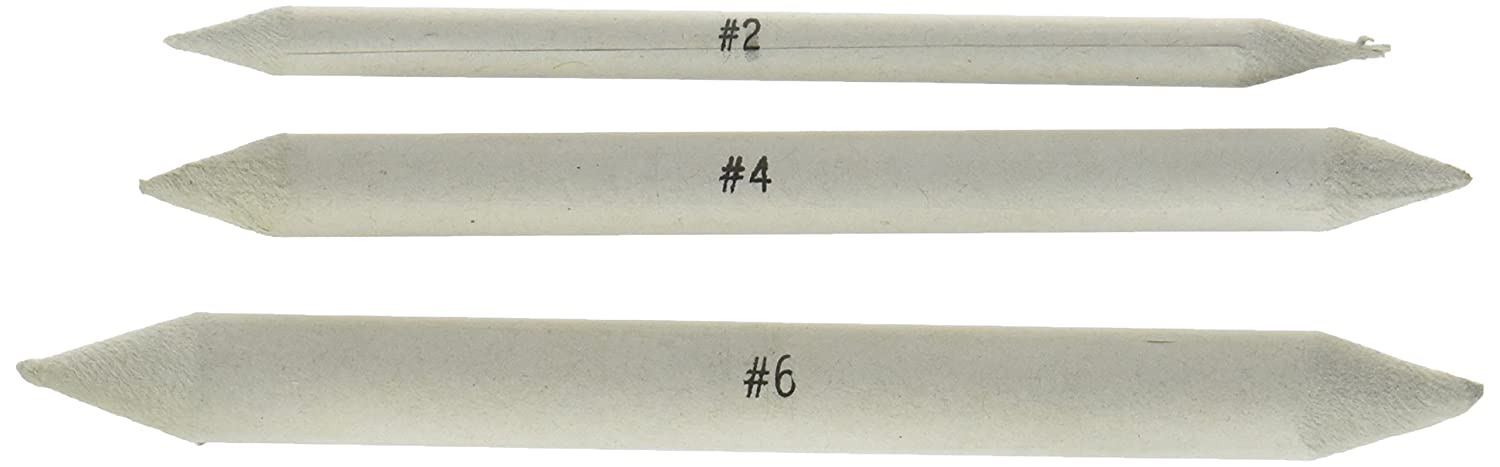 Jack Richeson Blending Tortillon Stomps, 3/8-Inch, 3-Pack 710311
