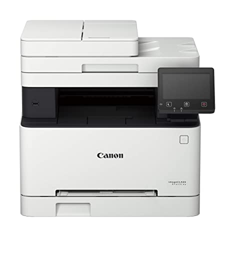 Amazon In Buy Canon Imageclass Mf643cdw All In One Colour Laser Printer Lan Duplex Wifi Direct Online At Low Prices In India Canon Reviews Ratings