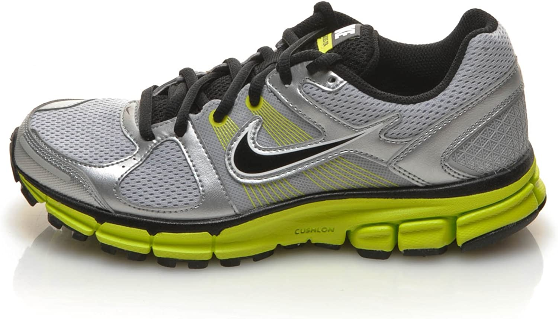 Nike Zapatillas Air Pegasus 28+ (GS) Gris/Amarillo/Negro EU 35.5: Amazon.es: Zapatos y complementos