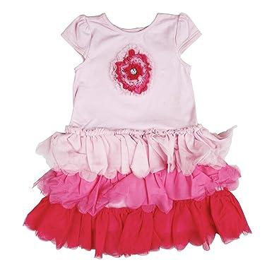 Girls' Clothing (newborn-5t) Dresses Girls Pink Dress 3-6 Months