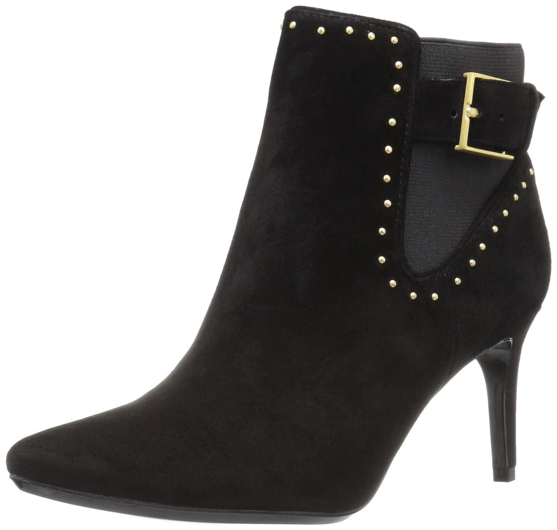 Calvin Klein Women's Jozie Ankle Bootie B01JZ90UNS 8 B(M) US|Black Suede/Stretch