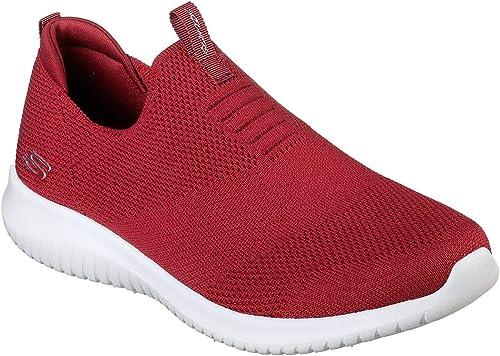 Skechers Ultra Flex - First Take 12837, Zapatillas sin Cordones para Mujer: Amazon.es: Zapatos y complementos
