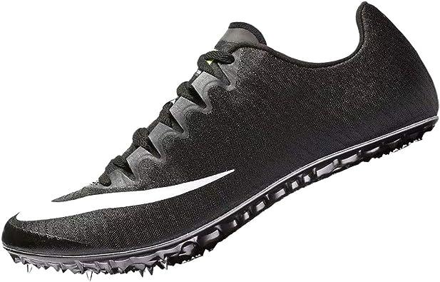 Nike Zoom Superfly Elite, Zapatillas de Running Unisex Adulto, Negro (Black/White/Volt/Dark Grey 017), 48.5 EU: Amazon.es: Zapatos y complementos