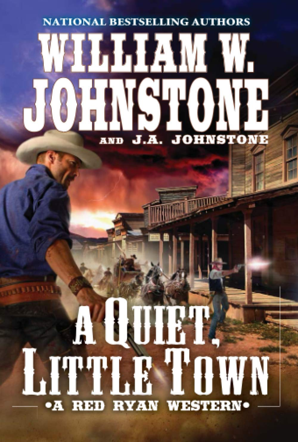 A Quiet, Little Town (A Red Ryan Western)