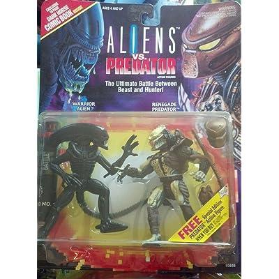 Aliens VS Predator Deluxe Action Figure Set: Toys & Games